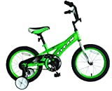 TITAN Champion Deluxe Boys BMX Bike with 16' Wheels, Training Wheels Included, Lime Green