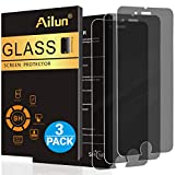 Ailun Screen Protector Compatible with iPhone 8 Plus 7 Plus,Privacy,Anti-Glare,[3Pack],Tempered Glass Compitable with Phone 8/7 Plus,Anti-Scratch,Case Friendly