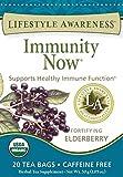 Lifestyle Awareness Teas, Caffeine Free Immunity Now Tea, 20 Count (Pack of 6)