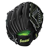 Franklin Sports 22610 Field Master Midnight Series Baseball Glove, Right Handed Thrower, 13'