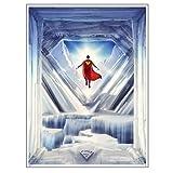 QMx Superman: Fortress of Solitude Art Print