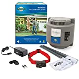 PetSafe Wireless Dog and Cat Containment System - from the Parent Company of Invisible Fence Brand - Above Ground Electric Pet Fence