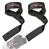 Lifting Wrist Straps by Rip Toned (Pair) - Cotton - Neoprene Padded - For Weightlifting, Bodybuilding, Xfit, Strength Training, Powerlifting, MMA