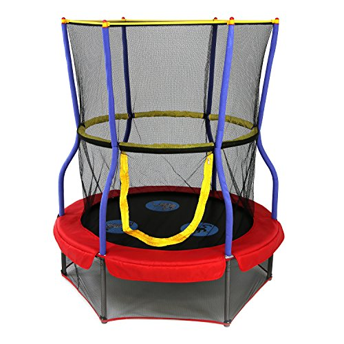 Skywalker Trampolines 48 In. Round Zoo Adventure Bouncer with Enclosure