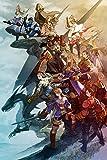 Final Fantasy CGC Huge Poster Tactics PS1 PS2 PSP Vita Nintendo DS GBA - FTA009 (24' x 36' (61cm x 91.5cm))