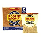 Fresh Cab Botanical Rodent Repellent 4 Scent Pouches - EPA Registered, Keeps Mice Out