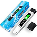 Water Quality Tester, Accurate and Reliable, HoneForest TDS Meter, EC Meter & Temperature Meter 3 in 1, 0-9990ppm, Ideal Water Test Meter for Drinking Water, Aquariums, etc.
