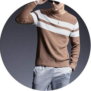 Amazing-cool 2018 Sweater for Mens Pullovers O-Neck Slim Fit Jumpers Knitred Thick Casual Men Clothes