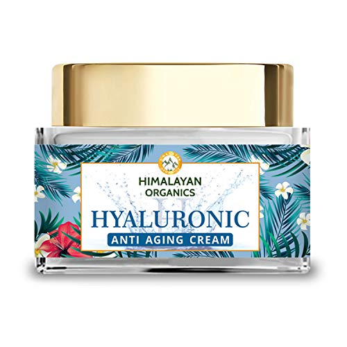 51CXsubWkNL - Himalayan Organics Hyaluronic Acid Anti Aging Cream for Under Eye Dark Circles, Anti Wrinkle, Skin Brightening, 50 ml
