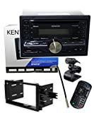 Kenwood DPX501BT CD Receiver + GM-10 Antenna Adapter + Dash Kit for 90-12 General Motors/Selected Imports
