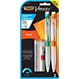 BIC Velocity Max Mechanical Pencil, Thick Point (0.9mm), 2-Count