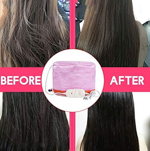 51Ca48BzbeL PETRICE Hair Care SPA Cap Beauty Steamer Hair Thermal Treatment Nourishing Hat