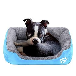 Barelove Square Large Dog Bed Mattress Washable Pads Room Waterproof Bottom