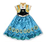 Rush Dance 2015 Disguise Princess Birthday Celebration Dress Costume Cosplay (4T-5T (110))