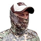 King's Camo Lightweight Head and Neck Gaiter, Desert Shadow, One Size