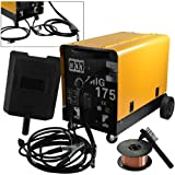 ARKSEN MIG-175 160 AMP 230V Flux Core Wire Welding Machine, Dual Mode Gas/No Gas