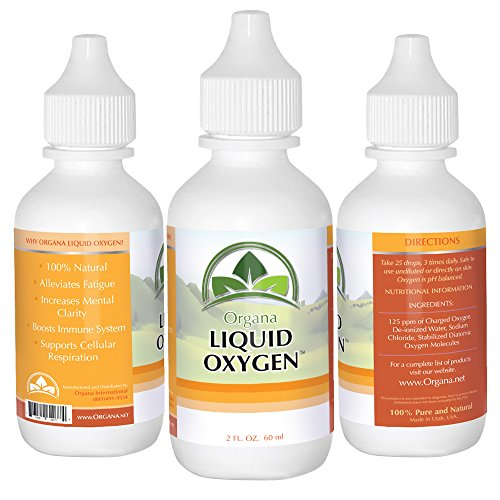 The BEST Liquid Oxygen Drops Supplement –100% Natural, Premium, Stabilized & Concentrated Liquid Oxygen 2 Ounces – Boost Immune System, Alleviate Fatigue, Enhanced Mental Clarity& Cellular Respiration