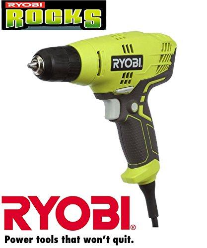 Ryobi ZRD43K 5.5-Amp 3/8 in. Variable Speed Drill (Renewed)