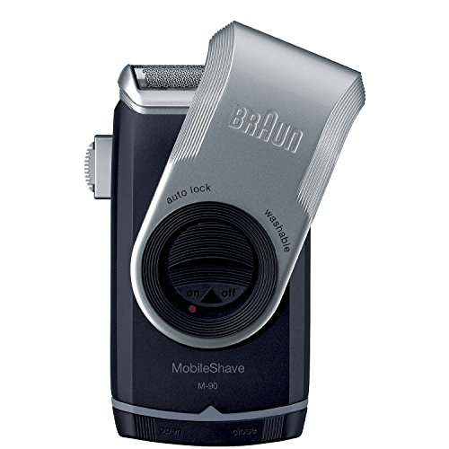 Braun M90 Mobile Shaver for Precision Trimming, Great for Travel,...