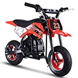 V-Fire 2-Stroke 51CC Gas Dirt Bike Mini Motorcycle (EPA Registered, NO CA Sales) (red)