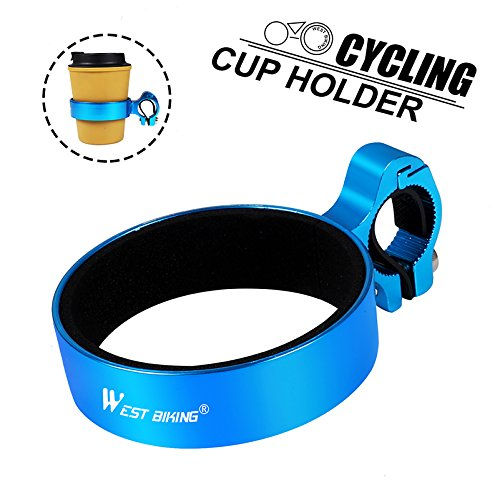 WESTGIRL Bike Cup Bottle Holder Handlebar Coffee Travel Mug Drink Holder Cruiser Mountain Road Bicycle Cycling Accessories