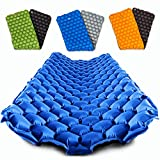 POWERLIX Sleeping Pad – Ultralight Self Inflatable Sleeping Mat, Ultimate for Camping, Backpacking, Hiking – Airpad, Inflating Bag, Carry Bag, Repair Kit – Compact & Lightweight Air Mattress