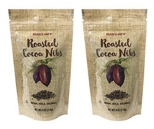 Trader Joe's Roasted Cocoa Nibs 4oz (Pack of 2)