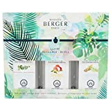 Lampe Berger Fragrance Trio Refill for Home Fragrance Oil Diffuser - 3x6.08 Fluid Ounces - 3x180 milliliters (Trio Immersion)