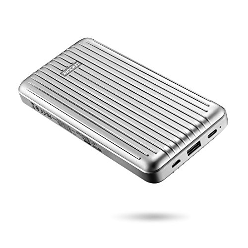 Zendure A6PD 20100mAh Ultra-Durable 45W Power Delivery Portable Charger with USB-C Input/Output, External Power Bank for MacBook Pro, iPad, iPhone X/8 Plus, Samsung S9, Nintendo Switch & More - Silver
