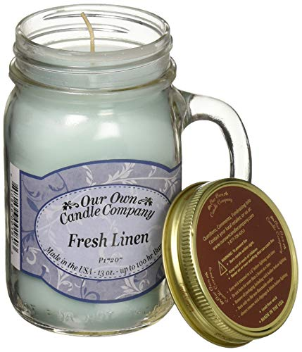 Our OWN Candle CO. SICI-FL Candle Jar 100Hr Fresh Linen