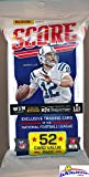 2016 Score NFL Football Awesome Factory Sealed JUMBO FAT Pack with 52 Cards! Loaded with RC's & EXCLUSIVE Inserts! Look for Rookies & Autographs of Carson Wentz, Jared Goff & All the Top NFL Picks!