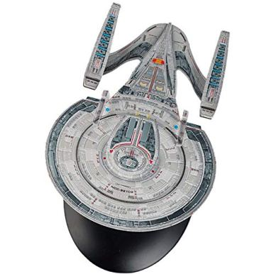 The-Official-Star-Trek-Online-Starships-Collection-USS-Andromeda-NCC-92100-with-Magazine-Issue-3-by-Eaglemoss-Hero-Collector
