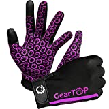 Touch Screen Gloves - Great for Running Rugby Football Walking (Pink, Extra Large)