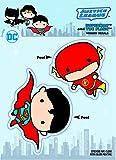 DC Comics ST DCCB SMFL Chibi Justice League Superman & The Flash Duo Car Window Decal