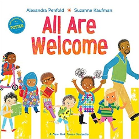 All Are Welcome makes a perfect back-to-school book.