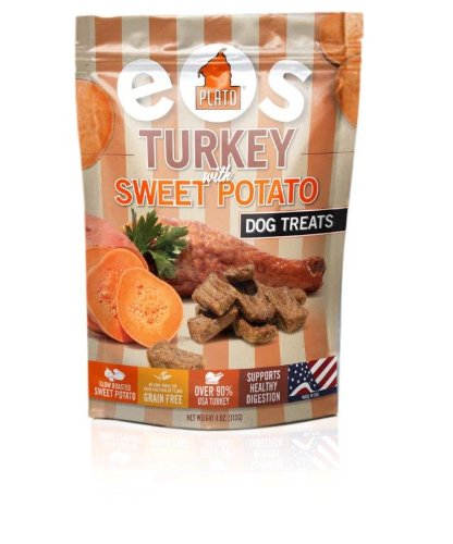 Plato Pet Turkey Sweet Potato Dog Treats