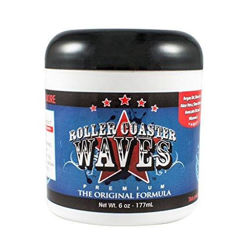 Roller Coaster Waves - Original Hair Pomade For Natural Deep Waves + Shape Control, 6 Ounces