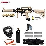 Tippmann Cronus Paintball Marker Gun -Tactical Edition- Tan Starter Package