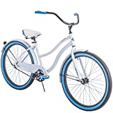Huffy 26' Womens' Cranbrook Cruiser Bike with Perfect Fit Frame, White
