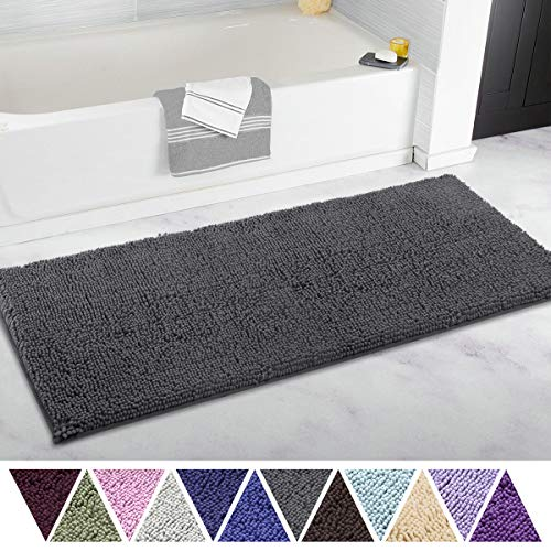 ITSOFT Non-Slip Shaggy Bathroom Rug