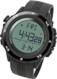 Lad Weather Altimeter Barometer Compass Sensor Watch Thermometer Weather Monitor Climbing Trekking Camping Hiking Outdoor Sports Watches