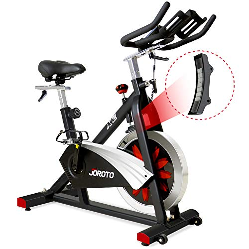 JOROTO-Belt-Drive-Indoor-Cycling-Bike-with-Magnetic-Resistance-Exercise-Bikes-Stationary-Bike