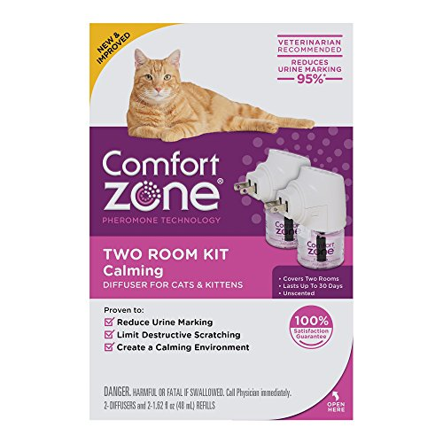 Comfort Zone Calming Diffuser for Cats Kittens (2Pack) 1