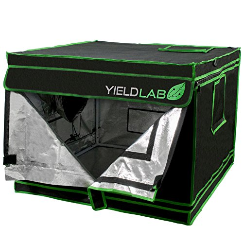 Yield Lab 32' x 32' x 24' Grow Tent with Viewing Window - For Indoor, LED, T5, CFL, HPS, CMH - Hydroponic, Aeroponic, Horticulture Growing Equipment