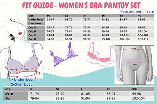 bra size chart india