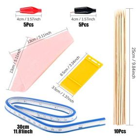 Keadic-87Pcs-Modeler-Basic-Tools-Craft-Set-Gundam-Model-Tools-Kit-with-Plastic-Box-and-Waterproof-Bag-for-Gundam-Car-Model-Building