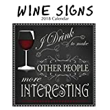 2018 Wine Signs Wall Calendar