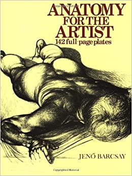 Amazon.com: Anatomy For The Artist (9781586631741): Jeno ...