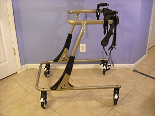Large Blue Rifton Pediatric Gait Trainer W/accessories