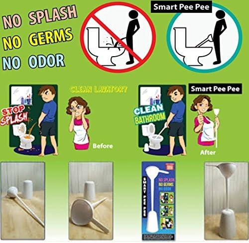 Worltra Smart Pee Pee Men Urine Device No Splash Pee Clean Toilet Lavatory